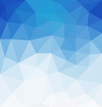 추상적 인 배경 - 삼각형과 흐리게 배너 디자인