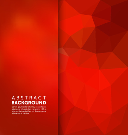 Abstract Background - Triangle and blurred banner design Vectores