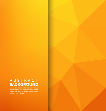 color background: Abstract Background - Triangle and blurred banner design Illustration