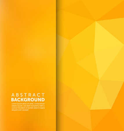 Abstract design: Abstract Background - Triangle and blurred banner design Illustration