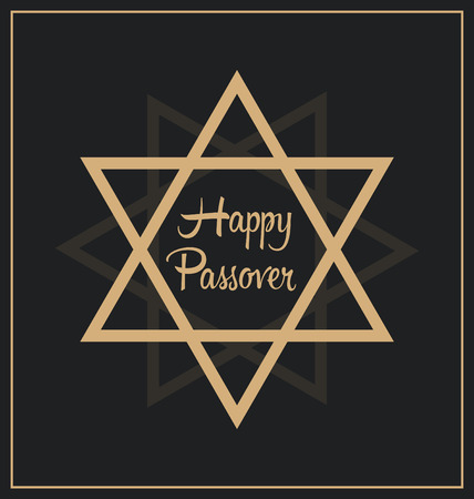 grail: Happy Passover Design Illustration