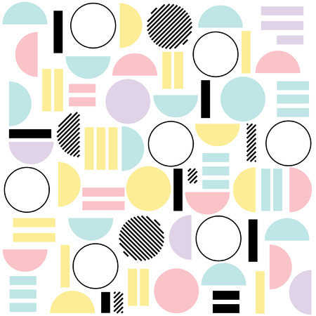 Geometrische Boho Style Pattern Stock Illustratie