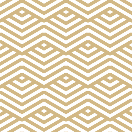 A Seamless Pattern - modern abstract vector design - repeating geometric elements Illustration