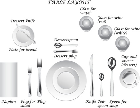 Table layout Illustration