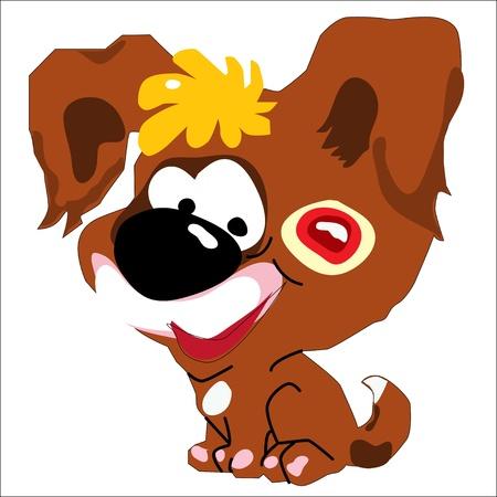 Brown dog, puppy