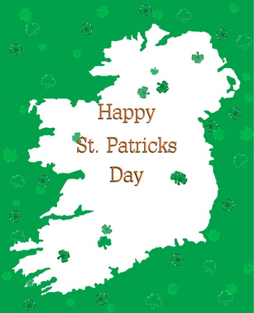 Happy St Patricks Day Postcard