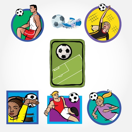 Soccer Set Icon