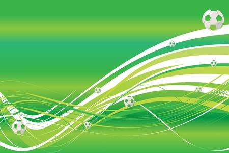 Green background - football