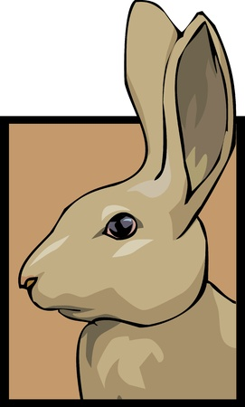 brown hare: Rabbit for Shop 3