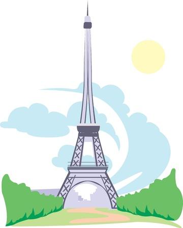 built tower: Eifel tower
