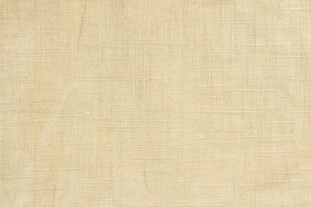 Texture of linen fabric material