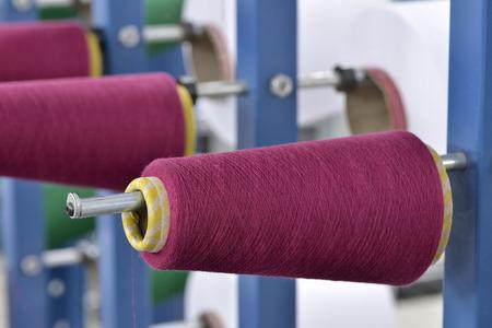 thread coil winding Stock fotó
