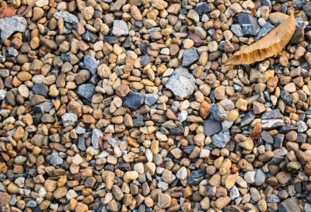 Nice background image of pebbles on a beach photo