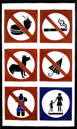 Warning label photo