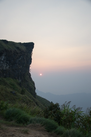 toroweap: Sunset at Phu Chi Fa ,Chiang Rai ,Thailand