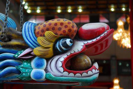 statuary garden: dragon head