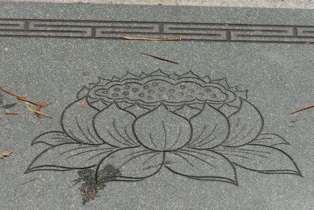 statuary garden: lotus