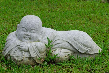 statuary garden: stone sculpture