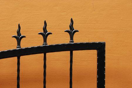 iron gates Stock Photo