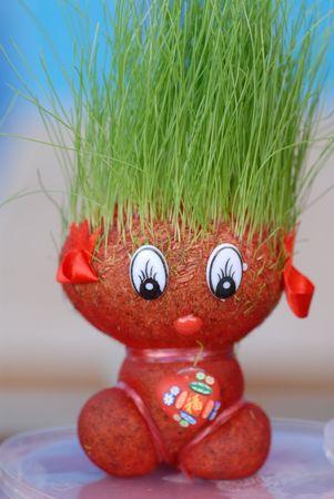 tarwe haren speelgoed display in de winkel