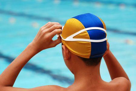 zwemmen concurrentie helpen bij het sportcentrum