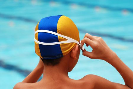 swimming competion help at the sport center