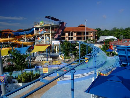 water theme parks at the city Stock Photo - 916293