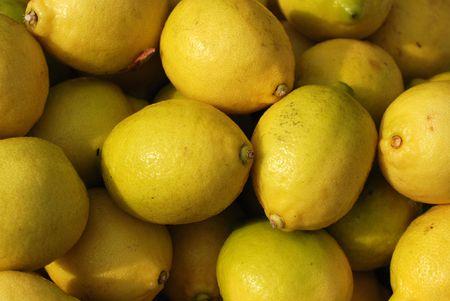 lemon selling at the markets