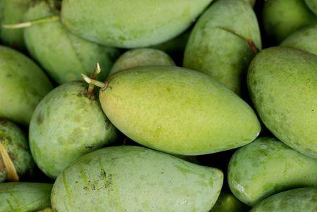 green mangoes  photo