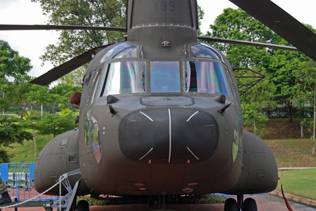 military helicopter Stock Photo - 1576270