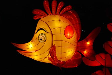 fish lantern in the Chinese gardens Stock Photo - 1692496