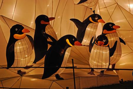 penguin lantern in the Chinese gardens Stock Photo - 1692551