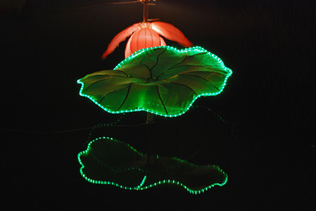 lotus lantern in the Chinese gardens Stock Photo - 1692525