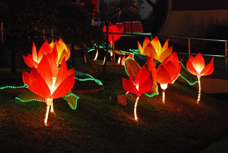 lotus lantern in the Chinese gardens Stock Photo - 1692596