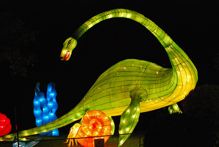 sea dragon lantern in the Chinese gardens Stock Photo - 1692540