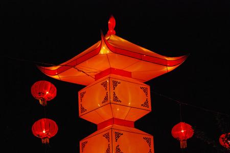lantern in the Chinese gardens photo