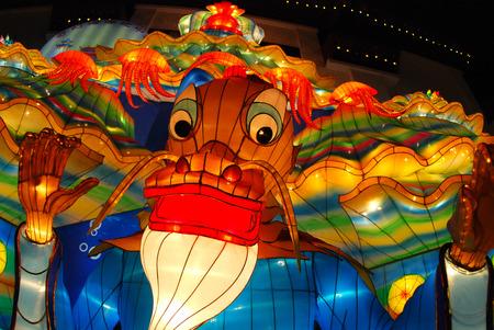 sea dragon lantern in the Chinese gardens Stock Photo - 1692585
