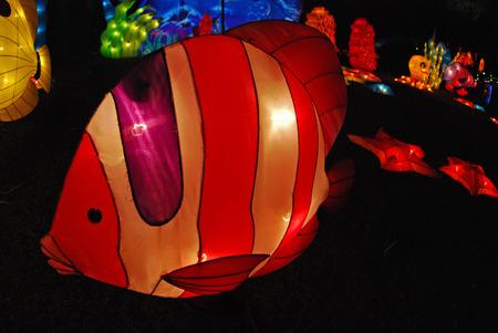 fish lantern in the Chinese gardens Stock Photo - 1684736