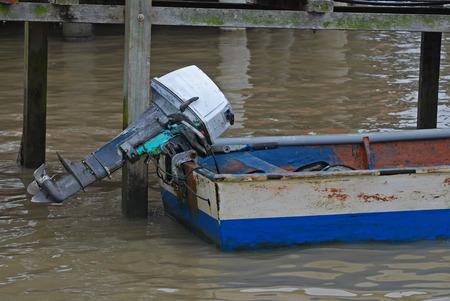 motor boat at the fish port Stock Photo - 1705290