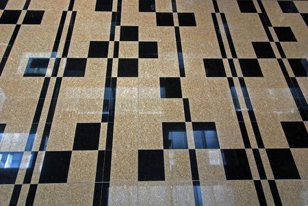 shinning: new shinning floor inside the airport
