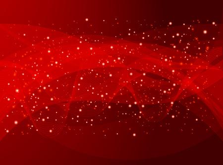 röd helgdag abstrakt bakgrund Illustration
