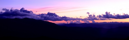 The purple sky photo