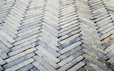 Cobbled pavement  photo