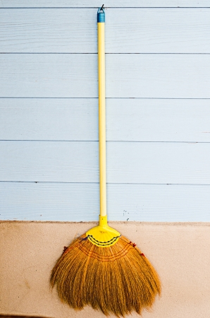 besom: broom Stock Photo