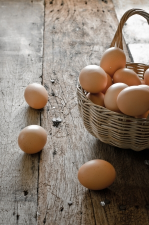 baskets: eggs in the basket