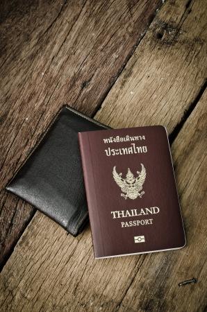 passport  of thailand photo