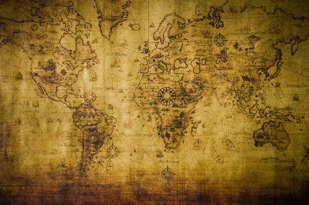 mapa de africa: viejo mapa