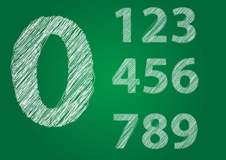 숫자 0-9