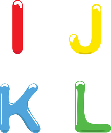 english letters: English letters Illustration