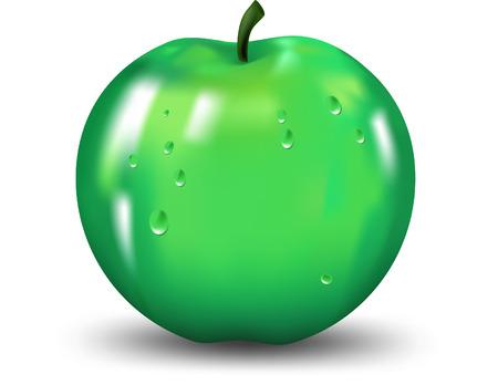 apple core: Apple